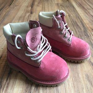 Timberland - Pink size 6